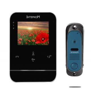 Комплект видеодомофона ІМ-11 (ІМ-01 black + ІМ-10 black)