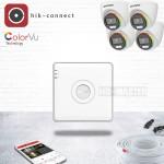 KIT40-ColorVu комплект видеонаблюдения Full HD на 4 камеры